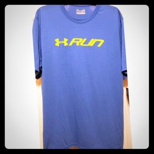 NWT Under Armour Men's Large loose fit T Shirt